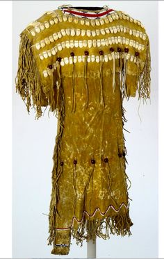 Cheyenne dress with elk teeth, BBHC