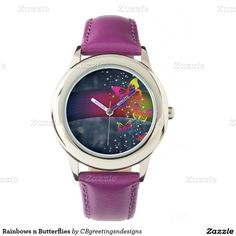 Rainbows n Butterflies Wristwatches