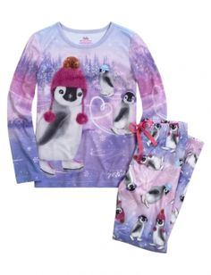 Size 6-7 Penguins pajama for Sammy