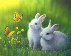 I need this bunny painting !Incredible Fantasy Art Works by American Artist Kirk Reinert Animals And Pets, Baby Animals, Cute Animals, Bunny Art, Cute Bunny, Bunny Bunny, Easter Bunny, Art 33, Lapin Art
