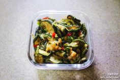4월의라라 | 맛있는 식탁으로의 초대 :: [매일반찬] 숙주나물, 애호박새우젓볶음 반찬만들기