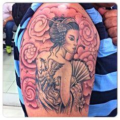 Tatuagem oriental , @rodolphotattoo