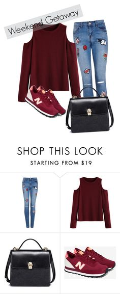 """""""Sans titre #42"""" by minii92 on Polyvore featuring mode, WithChic et New Balance"""