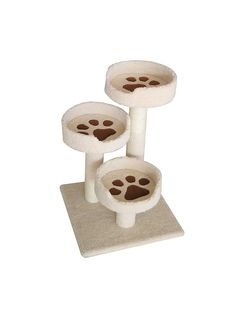 IRIS 3-Tier Cat Tree Condo, Kitty Paws Perch ** Remarkable product available now. : Cat Beds and Furniture