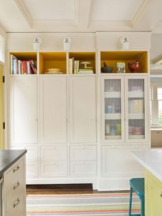 built in pantry - floor to ceiling - all cabinets | home decor