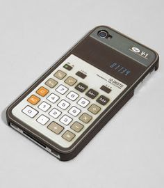 Old-school calculator case voor de iPhone 4 $9.90