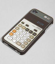 Old-school calculator case voor de iPhone 4 $9.90