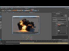 Gasoline Explosion using Phoenix FD for Maya - CGMeetup : Community for CG & Digital Artists