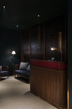 The Fleming is a boutique hotel in Hong Kong with a welcoming but brooding interior design that& reflective of its maritime surroundings. Lobby Lounge, Hotel Lobby, Resorts, Hotel Safe, Hotel Reception, Design Firms, A Boutique, Boutique Interior, Boutique Hotels