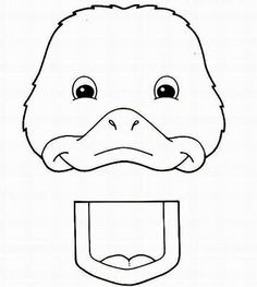 My crafts go in a paper bag, and sometimes the bag is part of the craft!  Paper bag duck puppet pattern.
