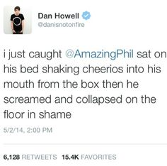 Phil and his cereal problem