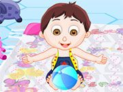 Free Online Girl Games, You are in charge of babysitting two cute babies, but they are quite the handful!  In Cute Baby Care, you must take care of these twins for 3 challenging levels!  Make sure you take of each babies' needs!, #baby #babysitting
