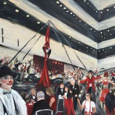 Live Event Painting by Jacqueline DelBrocco - Live Event Painting for the Cleveland AHA ? 2016 Heart & Stroke Ball   http://www.clevelandeventpainter.com/cleveland-event-painter-blog/2016/10/3/live-event-painting-for-the-aha-2016-heart-stroke-ball