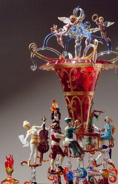 Amazing glassware by Lucio Bubacco
