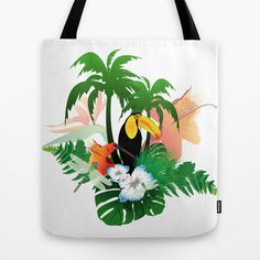 #Toucan #Tote #Bag by nicky2342 - $22.00