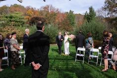 The Walk Down the Aisle - different ways to think about this... http://blogs.thepoconos.com/weddings/2014/10/12/the-walk-down-the-aisle/