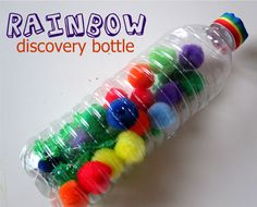 Rainbow Discovery Bottle - Perfect for St. Patrick's Day