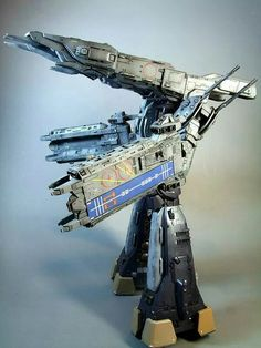 SDF-1.  Super-dimensional Fortress mark 1.  super-sized with a crew of over 500,000.