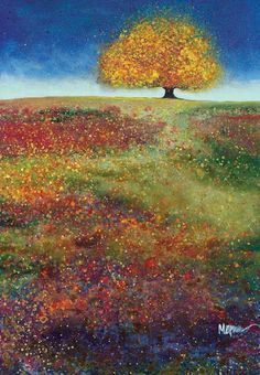 Dreaming Tree In The Field Of Magic - Melissa Graves-Brown