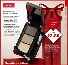 EVERY FRIDAY IS BLACK FRIDAY! ON LINE -ΦΥΛΛΑΔΙΟ ΠΡΟΣΦΟΡΩΝ - Gianna - George Oriflame Eyebrow Kits, Mineral Powder, Velvet Matte, Stocking Fillers, Christmas And New Year, Eyebrows, Wax, Eyeshadow, How To Apply