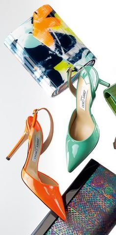 Jimmy Choo in Neon