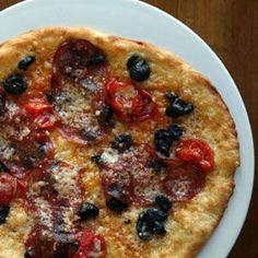Soppressata, Tomato, and Olive Pizza Recipe | SAVEUR