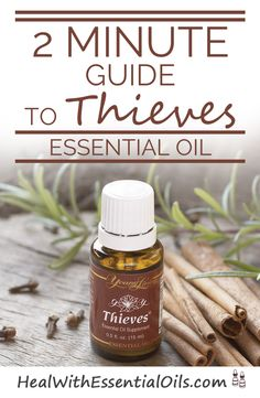 2 Minute Guide to Thieves Essential Oil