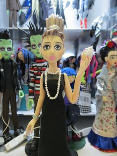 #endossa, #augusta, #presente, #gift, #boneco, #biscuit, #bonequinhadeluxo, #audreyhepburn