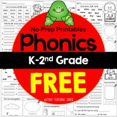 Phonics Easy Printables FREEBIE