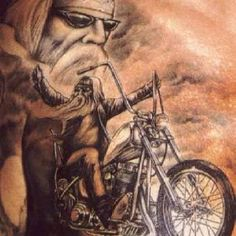 David mann...It's a spiritual thing! If you do not ride it is something you could never understand...