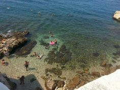 Rovinj beach, Croatia (taken by me)