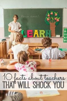 10 SHOCKING facts about teachers! I