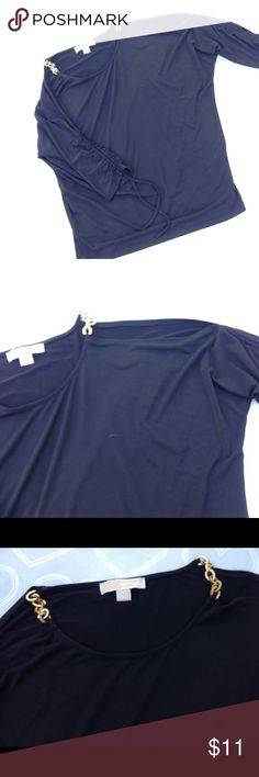 Michael kors could shoulder top size small Brand- Michael kors-- EUC women's cold shoulder top size small- would also fit a Medium- stretch fabric- Michael Kors Tops Blouses