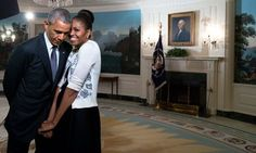 34 Times Barack And Michelle Obama's Love Made Us Weak In The Knees | The Huffington Post