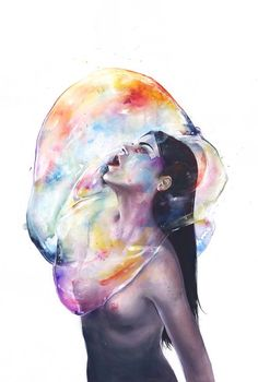"""Apnea,"" by Agnes Cecile"