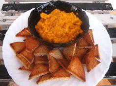 Velmi jednoduchá a přitom chutná mrkvová pomazánka či dip se slunečnicovými semínky, vhodná k dobrém | Veganotic