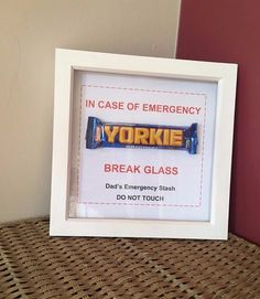 NOVELTY Gift Father's Day Dad's Emergency