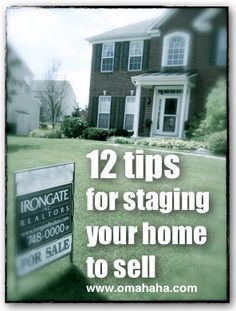 If you want to sell your home and get the best possible price for it, read some of these tips.  Some of them are a little harsh, but they give a great idea of how to think about your home and how to show it off to potential buyers.