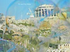 Bubbles in Athens, Bubble Performing, Acropolis, Athens