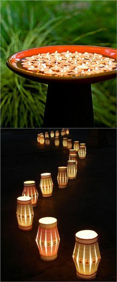 28 Stunning U0026 Easy DIY Outdoor Lights From Cedar Path Lights, Mason Jar  Solar Lights