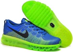 save off 2ac8c dc9ec Flyknit Air Max 2014 Green Blue Black Nike Shoes For Sale, Nike Shoes Cheap,