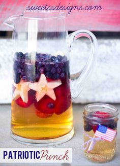 Patriotic Punch- this is perfect for 4th of July