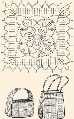 Transcendent Crochet a Solid Granny Square Ideas. Inconceivable Crochet a Solid Granny Square Ideas. Motifs Granny Square, Crochet Motifs, Granny Square Crochet Pattern, Crochet Squares, Crochet Doilies, Crochet Patterns, Granny Squares, Crochet Diy, Crochet Crafts