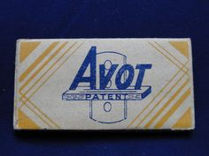 AVOT Safety Razor Blades double edge