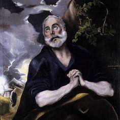 ElGreco, St Peter in Penitence c1585