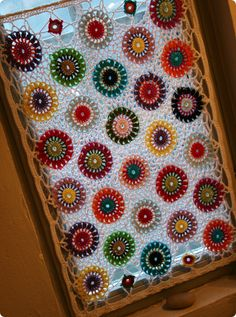 Window Cover!  Lovely in a little girl's room!  Too bad I don't have a girl.  :(