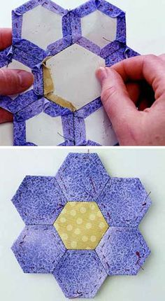 English Paper Piecing - tutorial