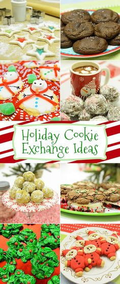 12 cookie ideas and recipes for your holiday party! christmas food and drink Christmas Deserts, Christmas Goodies, Holiday Desserts, Holiday Baking, Holiday Treats, Holiday Parties, Christmas Fun, Winter Parties, Holiday Foods