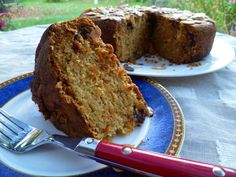 Dairy free Carrot and Coconut cake