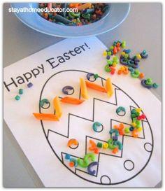 fine motor activities for preschoolers | ... Activities Preschool Coop Week – Easter Literacy Activities For